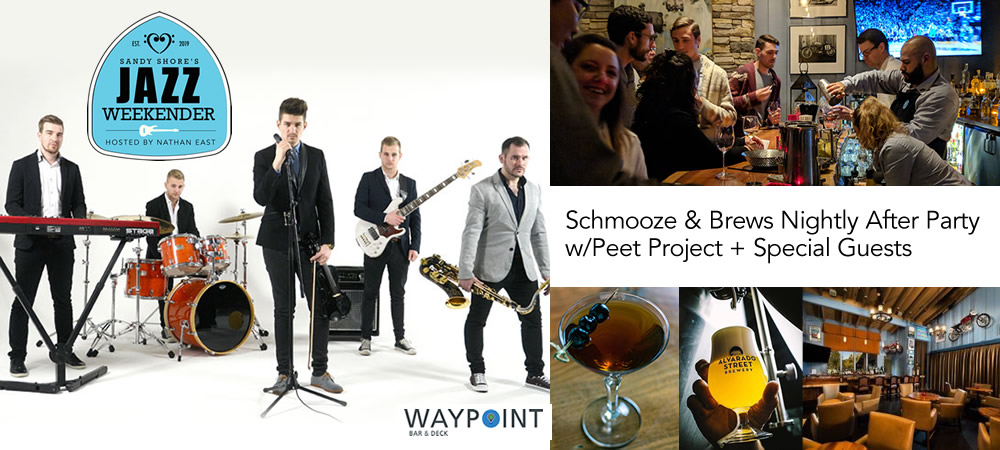 Schmooze & Brews Nightly After Party w/ Peet Project + Special Guests