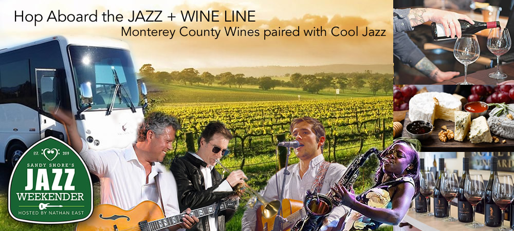 jazz & Wine Line Luxury Bus Tour