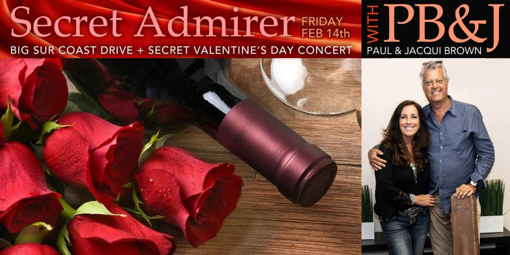 Jazz Weekender Valentine's Day Secret Admirer Concert with Paul & Jacqui Brown