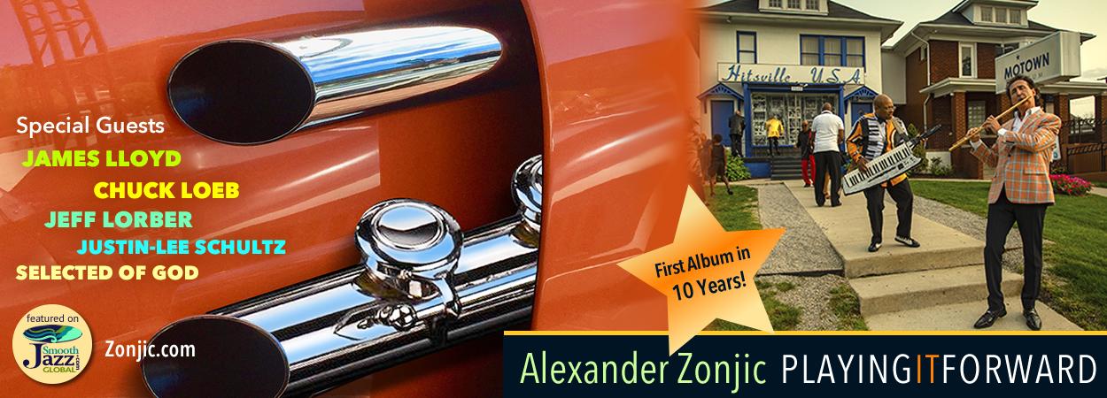 Alexander Zonjic - Playing It Forward