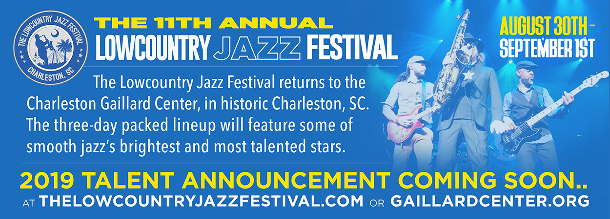 Lowcountry Jazz Festival - Coming Soon