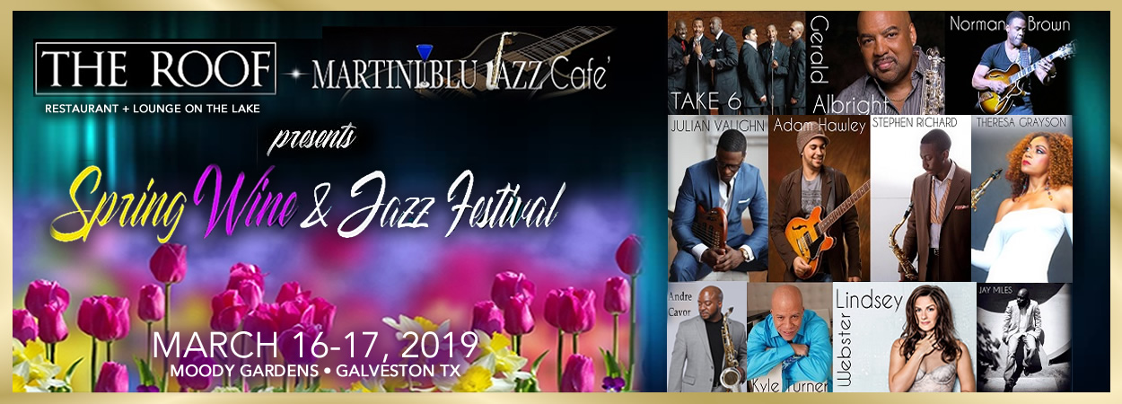 Martini Blu presents Spring Wine & Jazz Festival