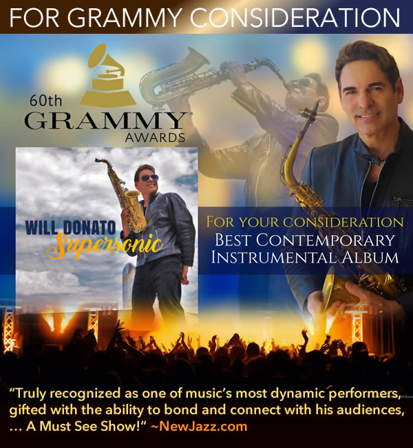 Will Donato Grammy Consideration