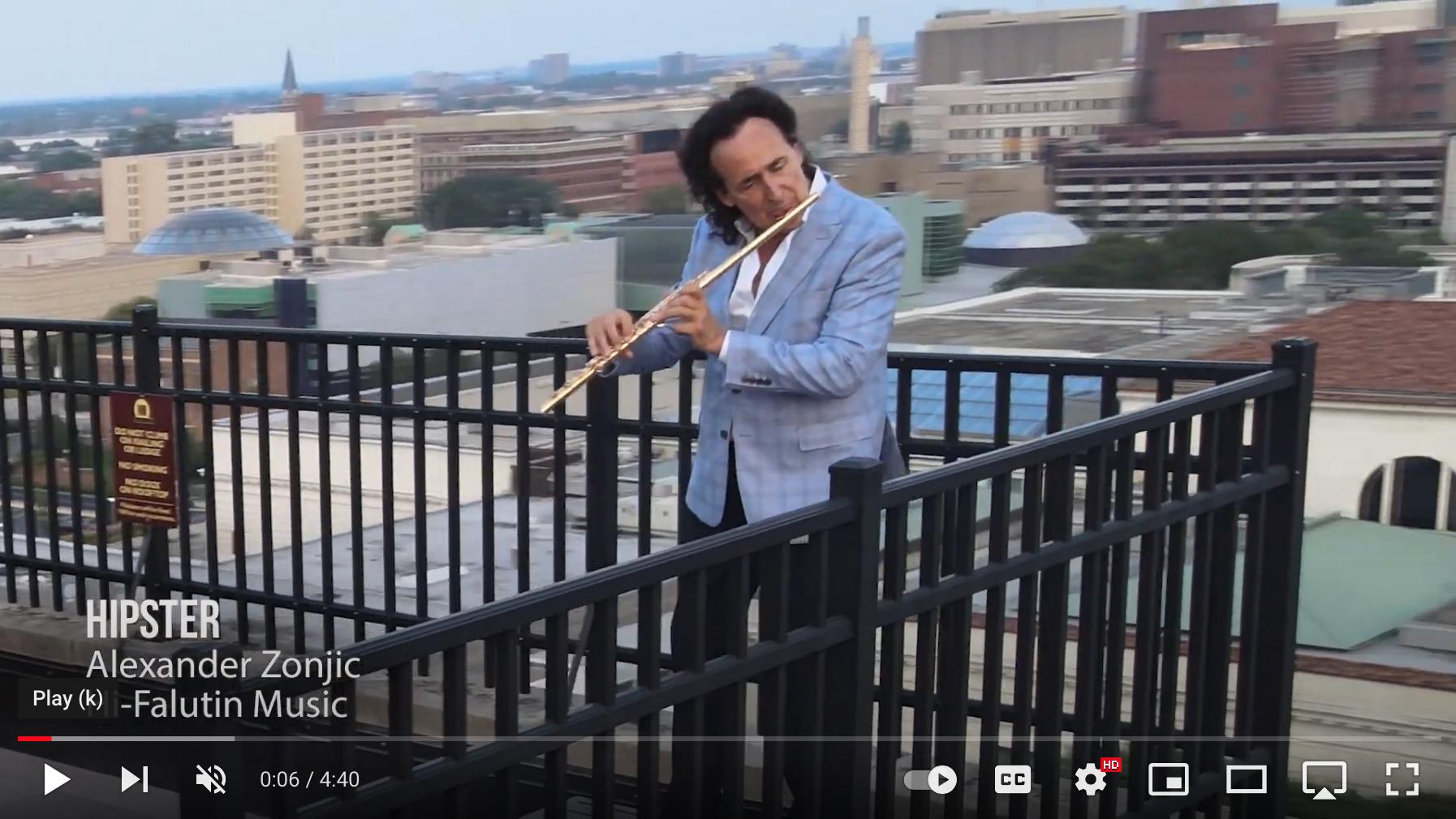 Alexander Zonjic's HIPSTER Video Debut