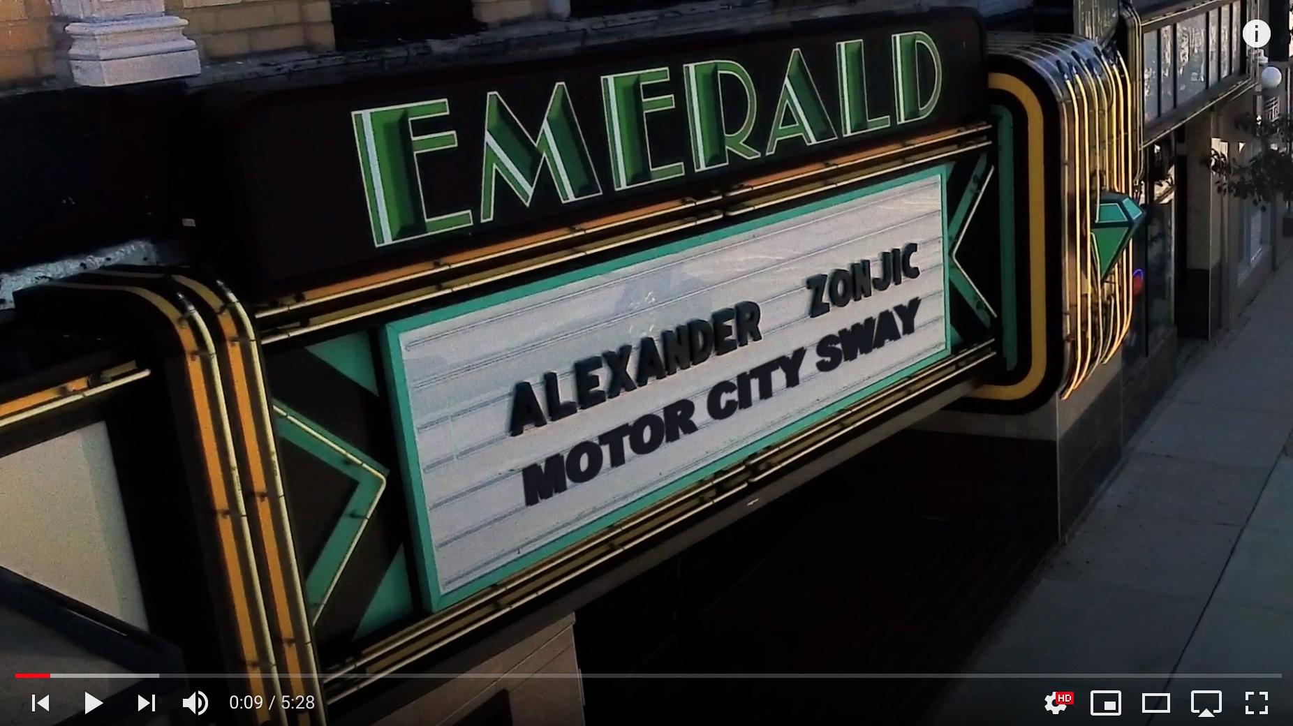Alexander Zonjic - Playing It Forward Video