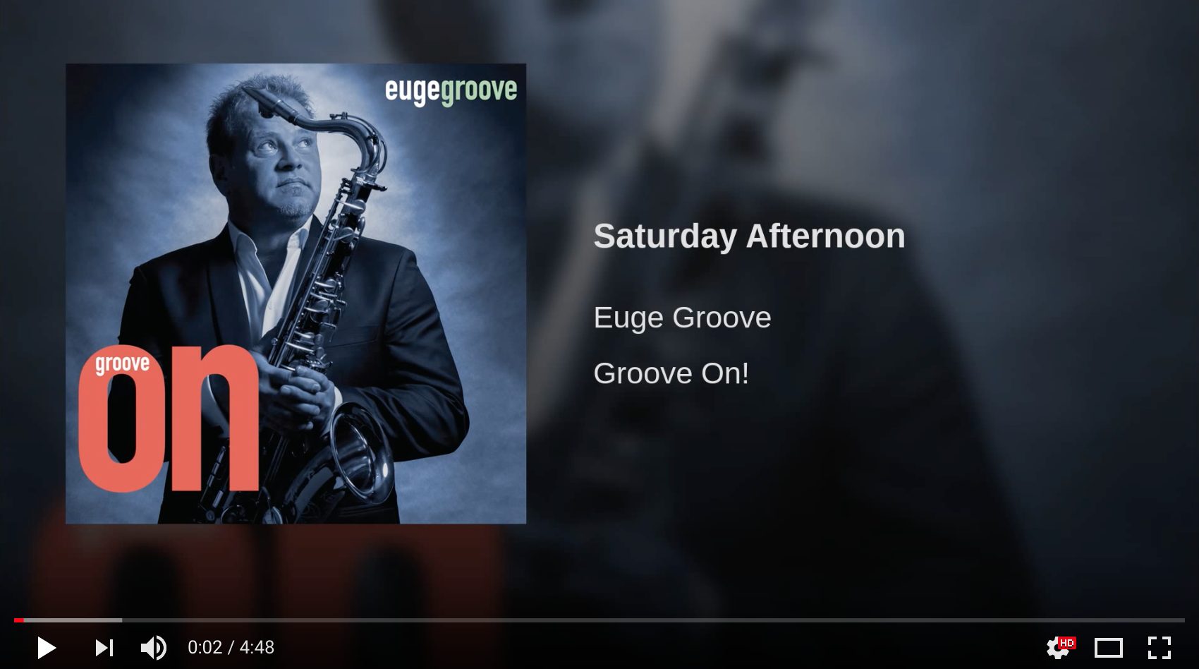 Euge Groove - Saturday Afternoon