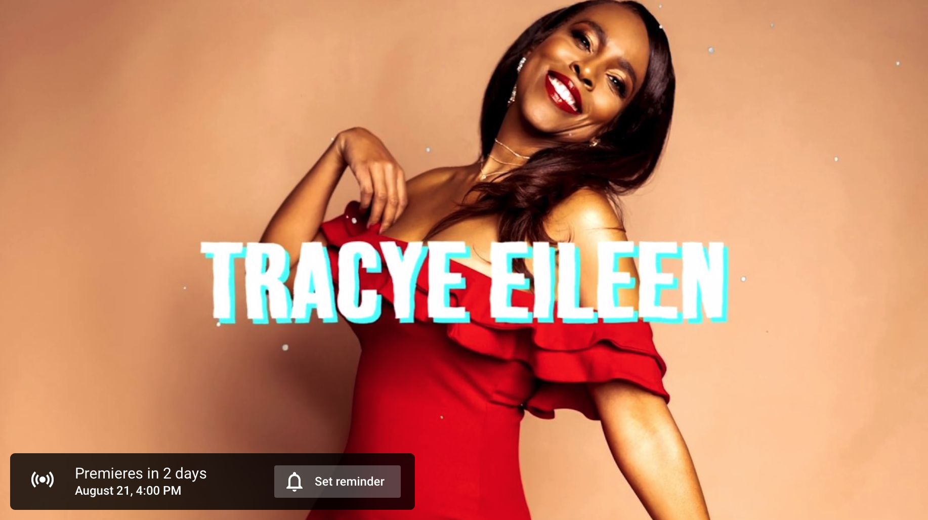 Tracye Eileen Lyric Video