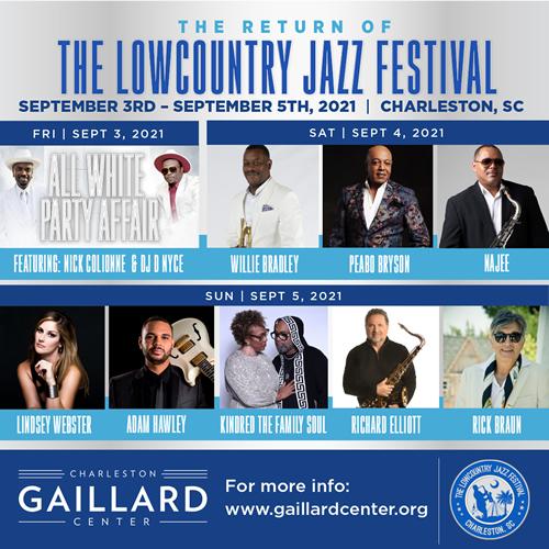 Lowcountry Jazz Festival 2021