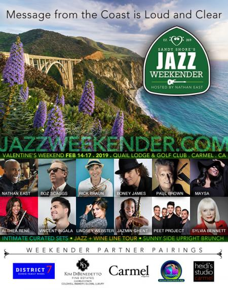 Sandy Shore's Jazz Weekender hosted by Nathan East