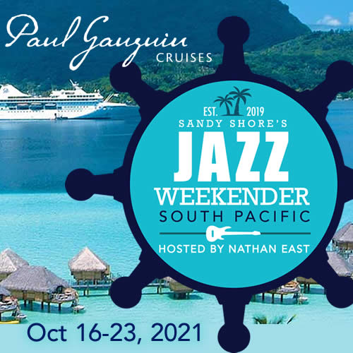 Sandy Shore's Jazz Weekender South Pacific 2021