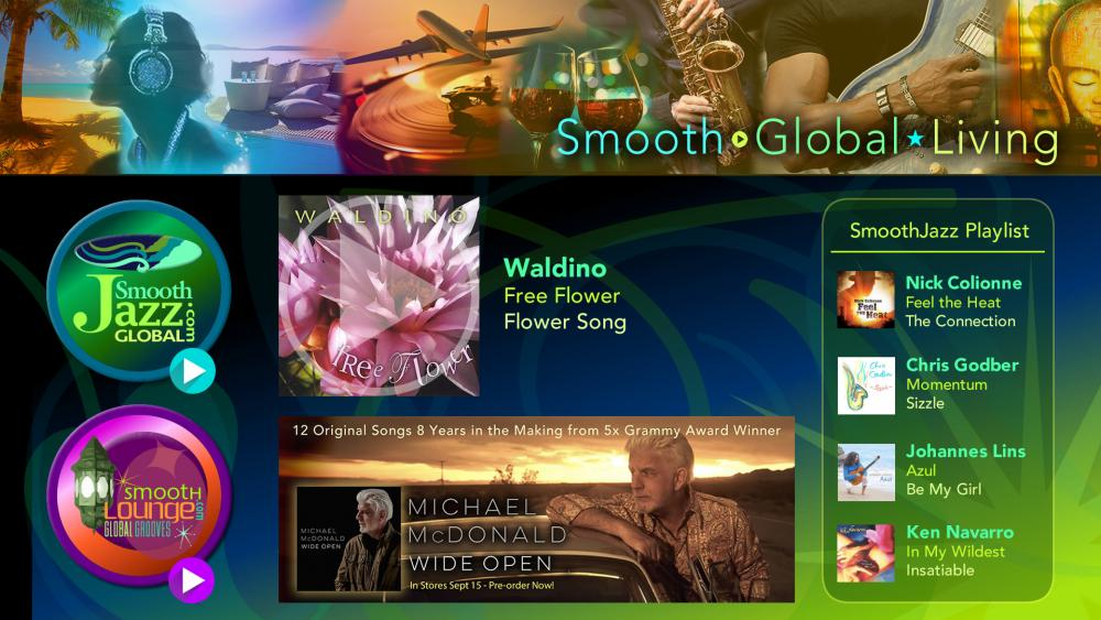 Smooth Global App debuts on Apple TV 4 | SmoothJazz com