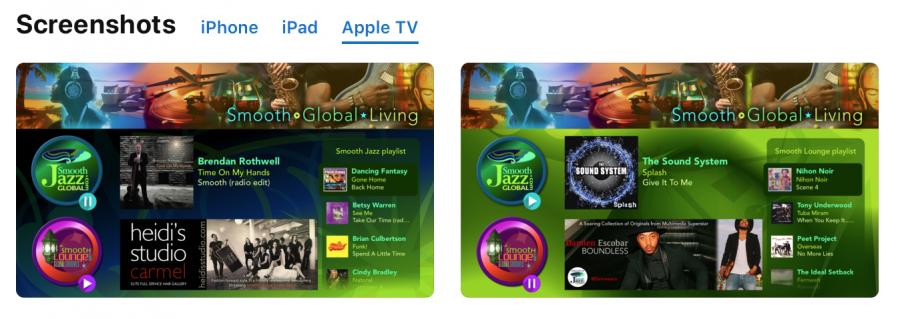 Apple TV 4 Smooth Global App