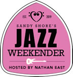 Sandy Shore's Jazz Weekender Logo - Pink