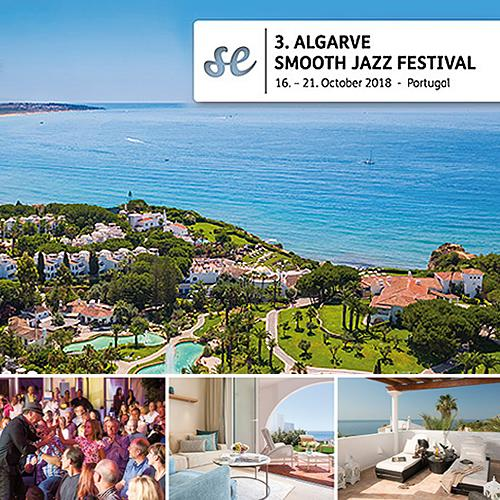 Algarve Smooth Jazz Festival 2018 - Book Your SmoothTravel Package