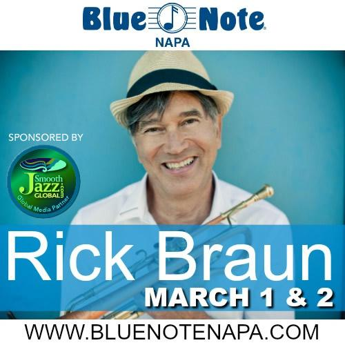 Blue Note Napa presents Rick Braun