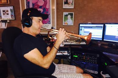 Rick Braun performing on Paul Tuvman's new album