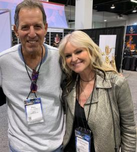 Paul Tuvman with Mindi Abair