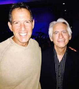 Paul Tuvman with David Benoit