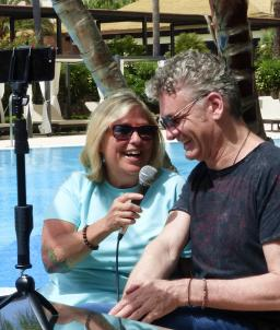 Cool By The Pool - Sandy Shore interviews Chris Standring