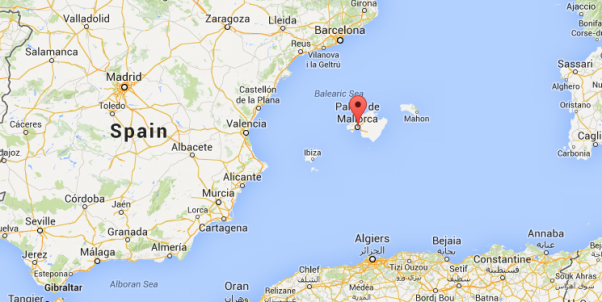 Map Of Spain And Mallorca.Mallorca Smooth Jazz Festival Smoothjazz Com