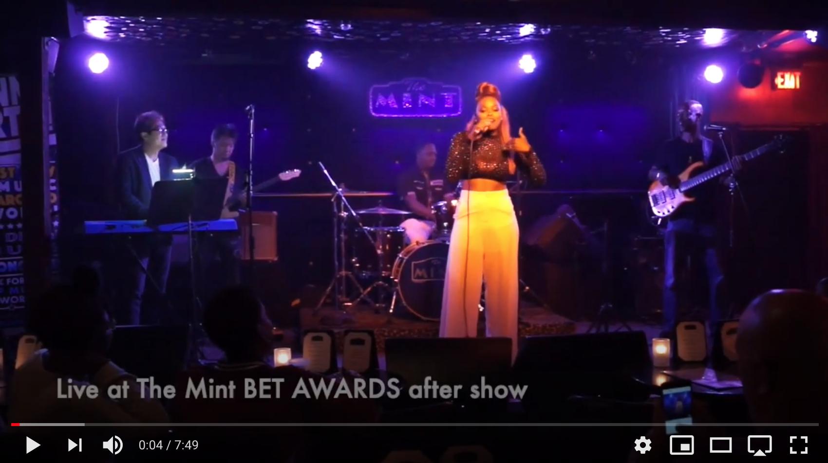 Erin Stevenson LIVE at BET Awards